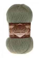 Пряжа для вязания Alize Angora Gold Simli (Ализе Ангора Голд Симли) Цвет 398 ментол