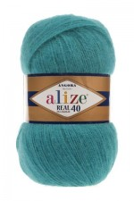 Alize Angora Real 40 Цвет 164 лазурный