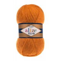 Пряжа для вязания Alize Angora Real 40 (Ализе Ангора Реал 40) Цвет 234 рыжий
