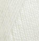 Пряжа для вязания Alize Angora Real 40 (Ализе Ангора Реал 40) Цвет 450 жемчуг