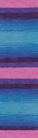 Пряжа для вязания Alize Angora Real 40 Batik (Ализе Ангора Реал 40 Батик) Цвет 4882