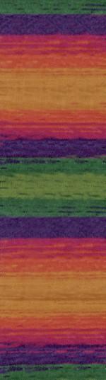 Пряжа для вязания Alize Angora Real 40 Batik (Ализе Ангора Реал 40 Батик) Цвет 4895