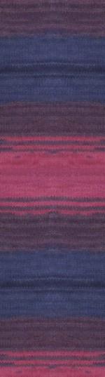 Пряжа для вязания Alize Angora Real 40 Batik (Ализе Ангора Реал 40 Батик) Цвет 6327