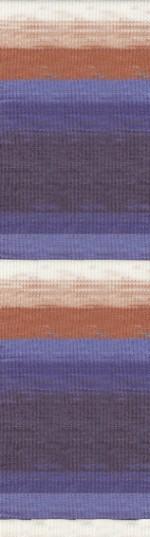 Пряжа для вязания Alize Angora Real 40 Batik (Ализе Ангора Реал 40 Батик) Цвет 6561