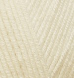 Пряжа для вязания Alize Baby Best (Ализе Беби Бест) Цвет 01 молочный