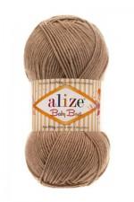Пряжа для вязания Alize Baby Best (Ализе Беби Бест) Цвет 08 норка