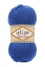 Пряжа для вязания Alize Baby Best (Ализе Беби Бест) Цвет 141 василек