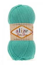 Alize Baby Best Цвет 376 светло бирюзовый