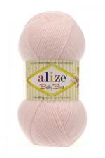 Пряжа для вязания Alize Baby Best (Ализе Беби Бест) Цвет 382 пудра