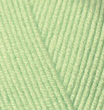 Пряжа для вязания Alize Baby Best (Ализе Беби Бест) Цвет 41 зеленый