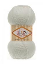 Пряжа для вязания Alize Baby Best (Ализе Беби Бест) Цвет 450 жемчужный