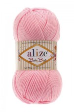 Пряжа для вязания Alize Baby Best (Ализе Беби Бест) Цвет 529 розовый