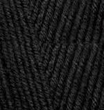 Пряжа для вязания Alize Baby Best (Ализе Беби Бест) Цвет 60 черный