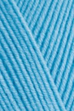 Пряжа для вязания Alize Baby Best (Ализе Беби Бест) Цвет 674 голубой