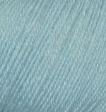 Пряжа Alize Baby Wool (Ализе Беби Вул) Цвет 114 мята