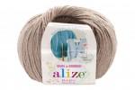 Пряжа Alize Baby Wool (Ализе Беби Вул) Цвет 167 бежевый