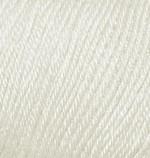 Пряжа Alize Baby Wool (Ализе Беби Вул) Цвет 599 слоновая кость