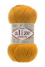 Пряжа для вязания Alize Bamboo Fine (Ализе Бамбу Файн) Цвет 83 тыква