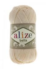 Пряжа для вязания Alize Bella (Ализе Белла) Цвет 01 молочный