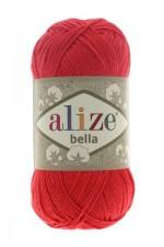 Пряжа для вязания Alize Bella (Ализе Белла) Цвет 254 гвоздика