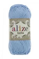 Пряжа для вязания Alize Bella (Ализе Белла) Цвет 40 голубой