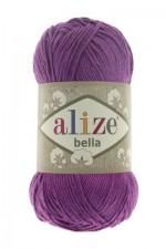 Пряжа для вязания Alize Bella (Ализе Белла) Цвет 45 фиолетовый