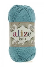 Пряжа для вязания Alize Bella (Ализе Белла) Цвет 462 лазурный
