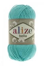 Пряжа для вязания Alize Bella (Ализе Белла) Цвет 477 бирюзовый