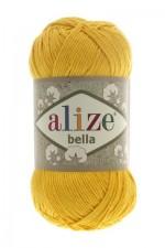 Пряжа для вязания Alize Bella (Ализе Белла) Цвет 488 желтый