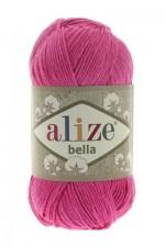 Пряжа для вязания Alize Bella (Ализе Белла) Цвет 489 ярко розовый