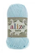 Пряжа для вязания Alize Bella (Ализе Белла) Цвет 514 зимнее небо