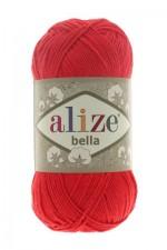 Пряжа для вязания Alize Bella (Ализе Белла) Цвет 56 красный