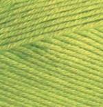Пряжа для вязания Alize Bella (Ализе Белла) Цвет 612 зеленый неон