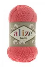 Пряжа для вязания Alize Bella (Ализе Белла) Цвет 619 коралловый