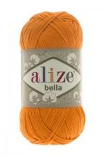 Пряжа для вязания Alize Bella (Ализе Белла) Цвет 83 тыква