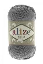 Пряжа для вязания Alize Bella (Ализе Белла) Цвет 87 угольно серый