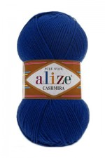 Пряжа для вязания Alize Cashmira (Ализе Кашмира) Цвет 215 черника