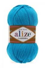 Пряжа для вязания Alize Cashmira (Ализе Кашмира) Цвет 245 морская волна