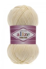 Пряжа для вязания Alize Cotton Gold (Ализе Коттон Голд) Цвет 01 молочный
