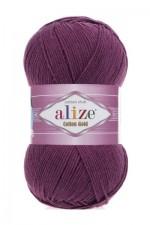 Пряжа для вязания Alize Cotton Gold (Ализе Коттон Голд) Цвет 122 сливовый
