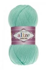 Пряжа для вязания Alize Cotton Gold (Ализе Коттон Голд) Цвет 15 мята