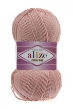 Пряжа для вязания Alize Cotton Gold (Ализе Коттон Голд) Цвет 161 пудра
