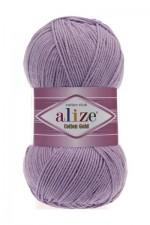 Пряжа для вязания Alize Cotton Gold (Ализе Коттон Голд) Цвет 166 лиловый