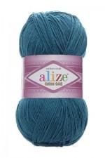 Пряжа для вязания Alize Cotton Gold (Ализе Коттон Голд) Цвет 17 петрольный