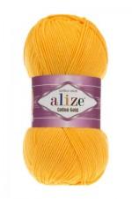 Пряжа для вязания Alize Cotton Gold (Ализе Коттон Голд) Цвет 216 желтый