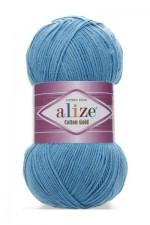Пряжа для вязания Alize Cotton Gold Цвет 245 бирюзовый