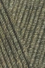 Пряжа для вязания Alize Cotton Gold (Ализе Коттон Голд) Цвет 270 хаки меланж