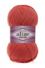 Пряжа для вязания Alize Cotton Gold (Ализе Коттон Голд) Цвет 38 коралловый