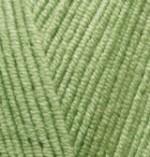 Пряжа для вязания Alize Cotton Gold (Ализе Коттон Голд) Цвет 385 зеленый