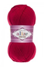Пряжа для вязания Alize Cotton Gold (Ализе Коттон Голд) Цвет 390 вишня